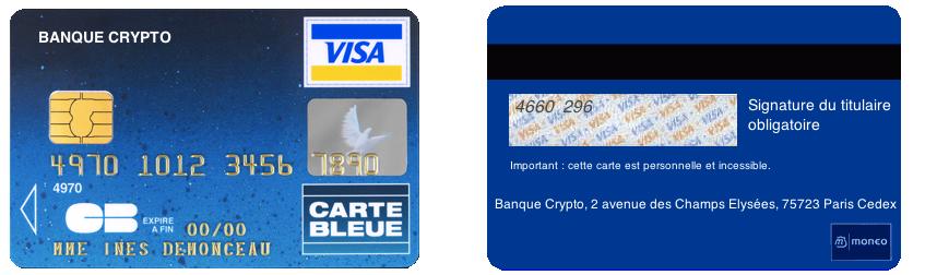code de carte bancaire La sécurité des cartes bancaires
